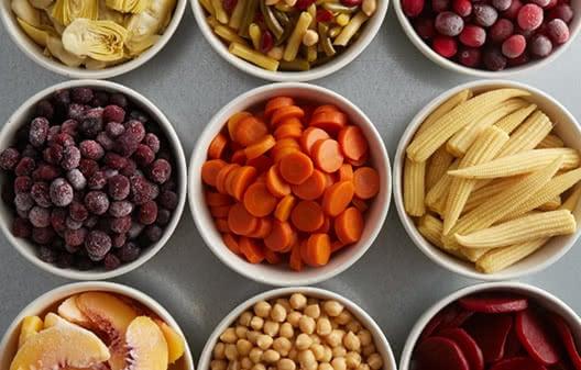 Bulk Food & Beverage: Fresh, Frozen, & Canned Foods