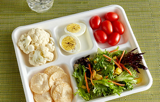 EcoChoice Foam and Pulp School Trays