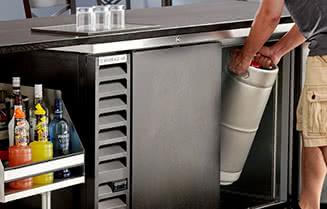 Beverage-Air Back Bar Coolers