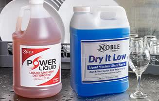Noble Chemical Machine Dish Washing & Sanitizing Chemicals