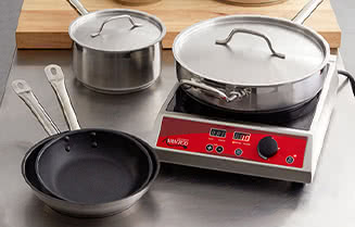 Vigor Stainless Steel Induction Ready Cookware