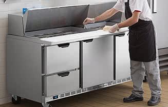Beverage-Air Commercial Sandwich / Salad Preparation Refrigerators