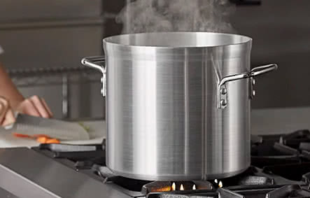 Vigor Stainless Steel Stock Pots and Accessories