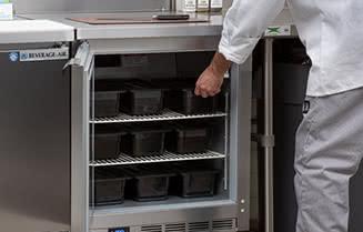 Beverage-Air Worktop Refrigerators