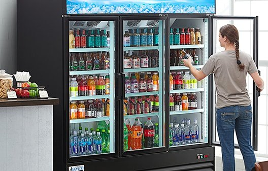 commercial drinks chiller