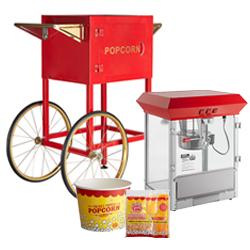 Popcorn Machines & Supplies