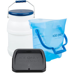 Ice Transport Buckets and Accessories