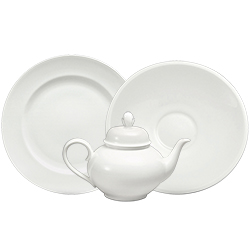 Sant'Andrea by Oneida Othello White Bone China Dinnerware