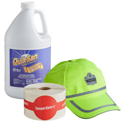 Safety Products & Cleaning Chemicals